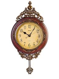 Garden Wall Clocks by Amazon Com Elegant Traditional Wall Clock With Pendulum