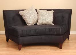 apartment sofas and loveseats black armless curved loveseat overstock shopping great deals on