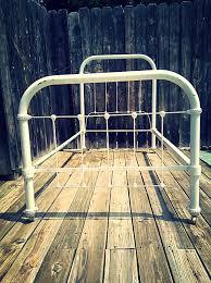 cast iron bed frame black convert a cast iron bed frame u2013 modern