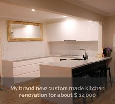 complete custom kitchen refurbish story for about 12 000