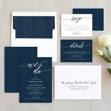 wedding invitations navy we do wedding invitations by emily buford elli