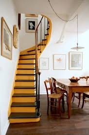 Narrow Stairs Design Inspired Color Blocking Stairs Pinterest Color Blocking