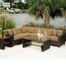 Vinyl Wicker Patio Furniture by Outdoor Conversation Furniture Home Design Ideas And Pictures
