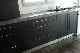 cuisine gris foncé chambre enfant plan de travail gris foncé cuisine gris mat