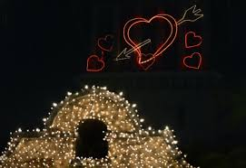 valentines day lights s day is in the air at riverside s mission inn all