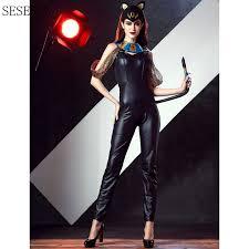 Halloween Costumes Catwoman Cheap Catwoman Costume Halloween Aliexpress