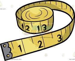 a tape measure cartoon clipart vector toons