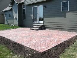 Brick Paver Patio Cost Lovely Brick Paver Patio Cost For Cost To Install Brick Patio Cost