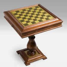 amazon com 3 in 1 brass u0026 wood storage game table with pedestal