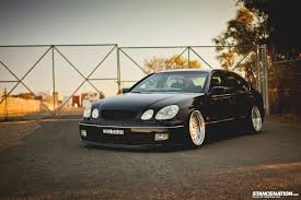 1998 lexus gs300 sedan simplicity is beauty chook u0027s lexus gs300 stancenation