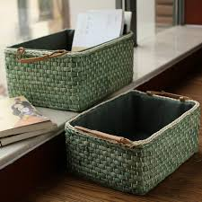aliexpress buy handmade wicker storage baskets bins