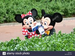 Mickey Mouse Topiary Minnie And Mickey Mouse Stock Photos U0026 Minnie And Mickey Mouse