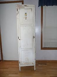 antique hoosier sellers jelly cupboard pie safe cabinet old tall