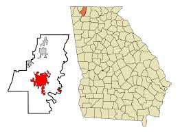 Georgia Zip Codes Map by Dalton Georgia Wikipedia