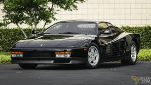 classic ferrari testarossa classic 1988 ferrari testarossa coupe for sale 2331 dyler