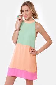 peach color dress oasis amor fashion