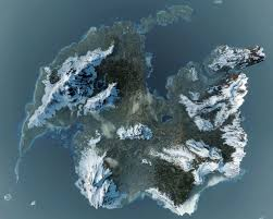 The Witcher 3 World Map by The Witcher 3 From Above Neogaf