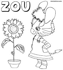 zou coloring pages coloring pages to download and print