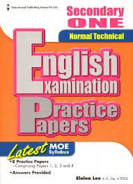 english writing paper maliasari books secondary english english exam parctice papers