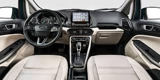 brazilian spec 2018 ford ecosport facelift dashboard indian