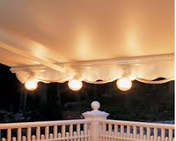 Awning String Lights Sunsetter Porch Patio Party Camping Outdoor Awning Lights String