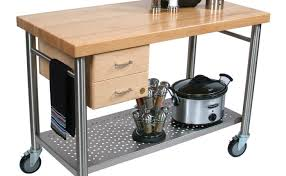 catskill craftsmen kitchen island kitchen stainless steel kitchen island cart shocking stainless
