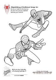 free printable spiderman colouring pages and activity sheets u2013 in