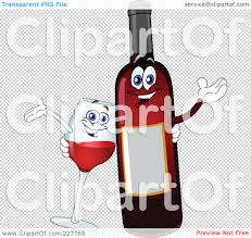 cartoon wine glass royalty free rf clipart illustration of a happy wine glass and