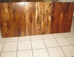 pre finished engineered acacia