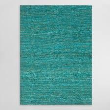 aqua deca flat woven jute rug world market