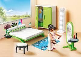 playmobil chambre des parents chambre avec espace maquillage 9271 playmobil suisse
