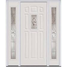 Steel Exterior Doors Home Depot by White 8 Panel Front Doors Exterior Doors The Home Depot