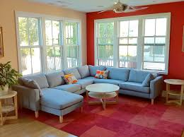Ikea Side Tables Living Room Modern Living Room With Ceiling Fan By Neal A Pann Architect