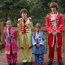 Family Of Four Halloween Costumes by The Psychotic Hobbyist Beatles Sgt Pepper Costumes