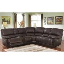 Leather Sofa With Chaise Lounge by Leather Sofas U0026 Sectionals Costco