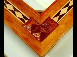 woodworking how to inlay wood pyramids