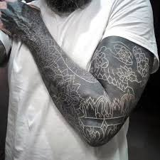 150 best white ink tattoos in the usa this year