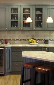 Grey Cabinet Kitchen Gray Blue Kitchen Cabinets Home Decoration Ideas