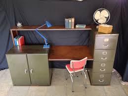 Metal Desk Vintage Executive Desk Wooden Metal Contemporary Neptun Solenne Model 9
