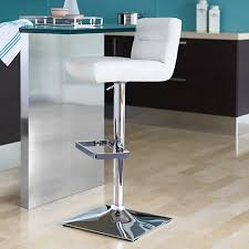 Adjustable Height Bar Stool Stafford White Adjustable Height Barstool 5c861 Lamps Plus