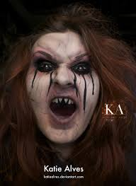 evil witch halloween makeup with tutorial by katiealves on