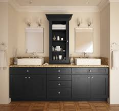 society shaker black bathroom vanities all home cabinetry