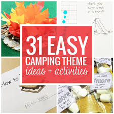 theme ideas 31 easy and cing theme ideas and activities teach junkie