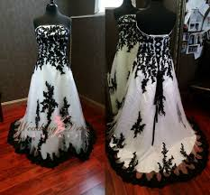 plus size black gothic wedding dresses long dresses online
