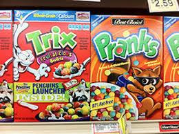 Trix Cereal Meme - 6 strange mascots of knock off cereal brands smosh