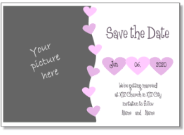 online save the date wedding invitation maker printable wedding invitation templates