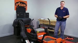 how to install ariens bagger kit 815043 on the ariens ikon x and