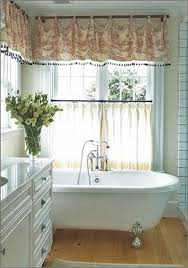 curtain ideas for bathroom windows 7 bathroom window treatment ideas for bathrooms blindsgalore