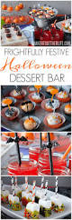 frightfully festive halloween dessert bar