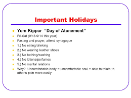 yom kippur atonement prayer1st s day gift ideas judaism beliefs and rites of passage ppt